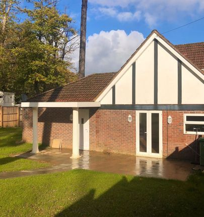 Thumbnail Semi-detached bungalow for sale in Moorhill Road, West End, Southampton