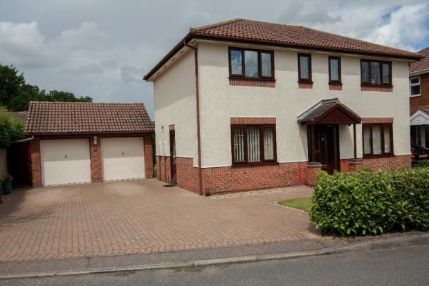 Thumbnail Detached house for sale in Longland Close, Norwich