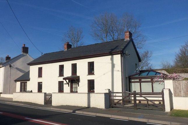 Thumbnail Detached house for sale in Alltwalis, Carmarthen, Carmarthenshire.