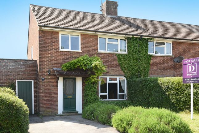3 bed end terrace house for sale in Rowlings Road, Weeke, Winchester