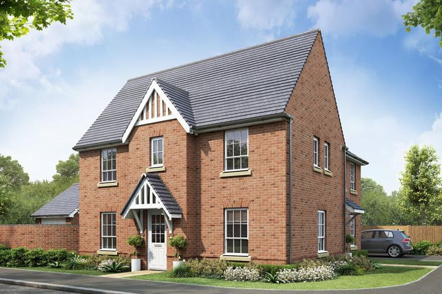 "Thumbnail Semi-detached house for sale in ""Morpeth"" at Beggars Lane, Leicester Forest East, Leicester"