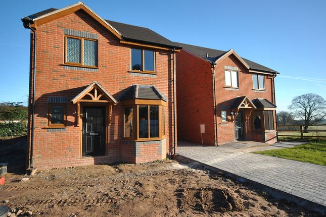 Thumbnail Detached house for sale in Burleydam Road, Ightfield, Whitchurch