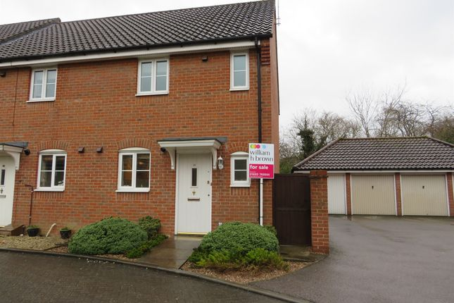 Thumbnail End terrace house for sale in Defiant Road, Old Catton, Norwich