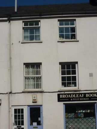 Thumbnail Flat to rent in 14B Monk Street, Abergavenny, Monmouthshire