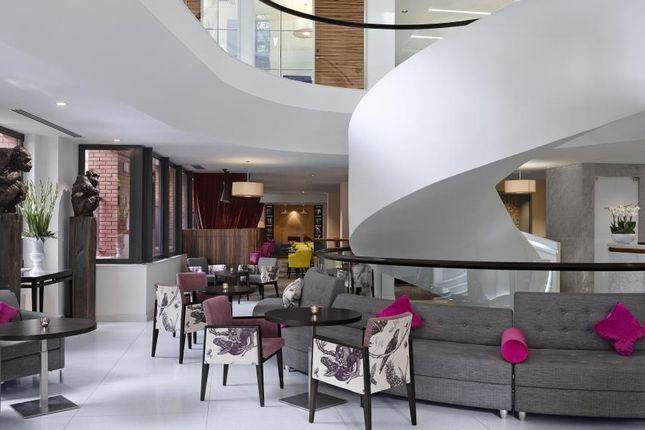 Internal View of Kensington High Street, London W8