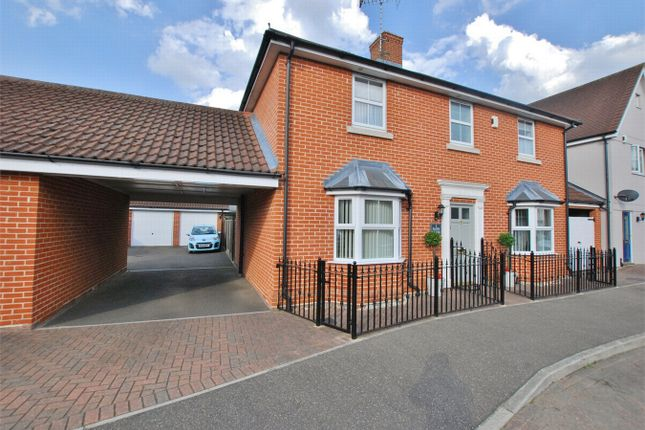 Thumbnail Detached house for sale in Quince Court, Tiptree, Essex