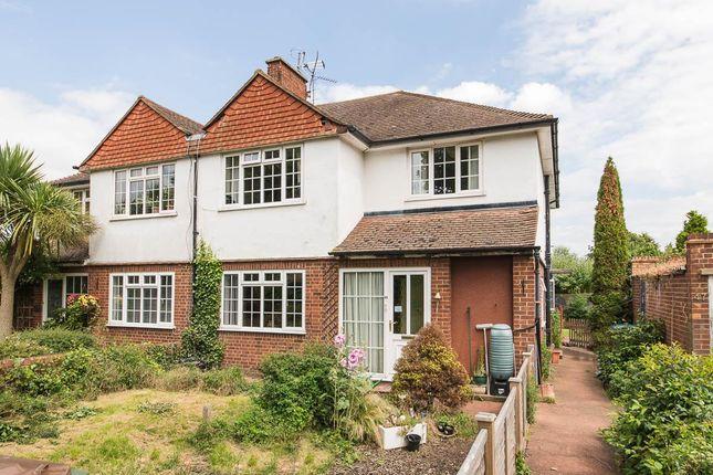 Thumbnail Maisonette to rent in Ewell Road Off Effingham Road, Long Ditton