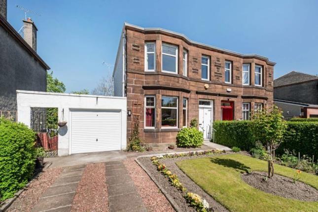 Thumbnail Semi-detached house for sale in Highburgh Drive, Rutherglen, Glasgow, South Lanarkshire