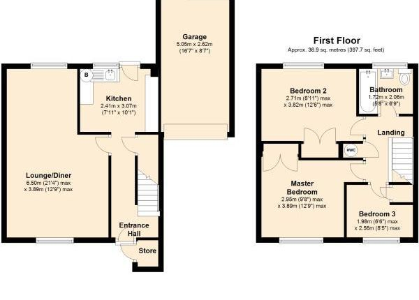 Thumbnail Property to rent in Abinger Way, Norwich