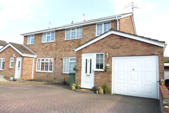 Thumbnail Semi-detached house for sale in Coed Y Wennol, Caerphilly