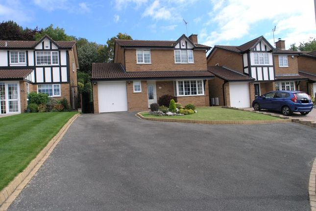 Thumbnail Detached house for sale in Cloister Drive, Halesowen