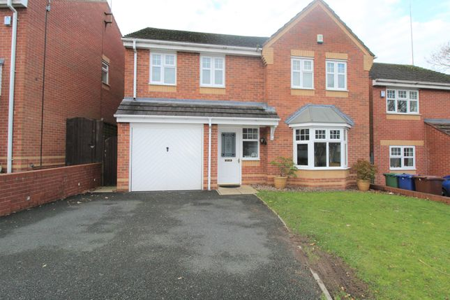 Thumbnail Detached house for sale in Worcester Close, Rugeley