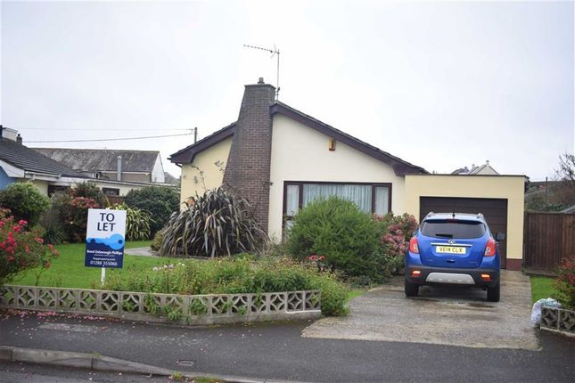 Thumbnail Detached bungalow to rent in West Park Road, Bude, Cornwall