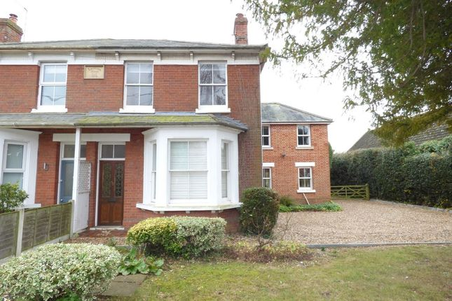 Thumbnail Semi-detached house to rent in Chapel Road, West Bergholt, Colchester