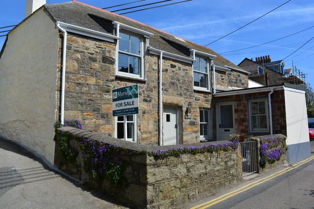 Thumbnail Detached house for sale in The Parade, Mousehole, Penzance