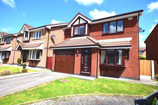 Thumbnail Detached house for sale in Dorket Grove, Westhoughton