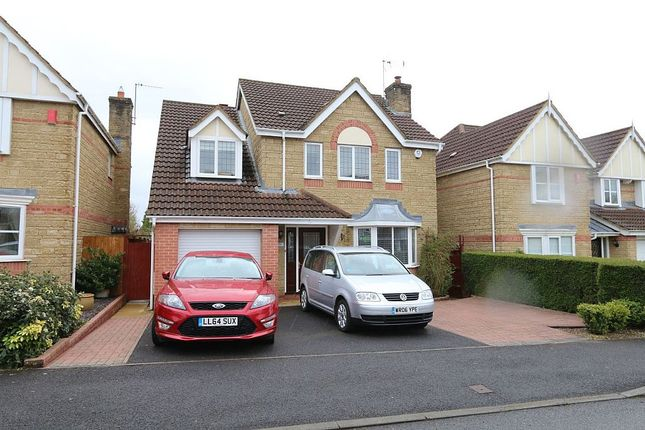 Thumbnail Detached house for sale in Fallow Field Close, Chippenham, Wiltshire
