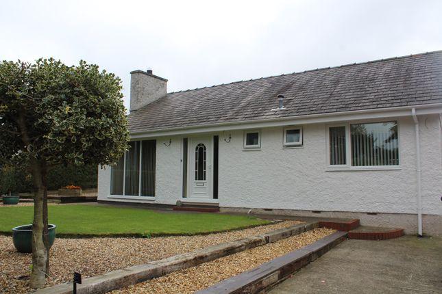 Thumbnail Detached bungalow for sale in Llanddaniel, Gaerwen