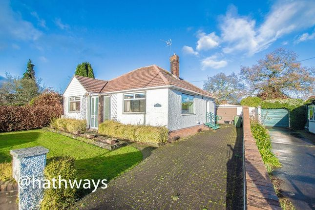 Thumbnail Detached bungalow for sale in Caerleon Road, Ponthir, Newport