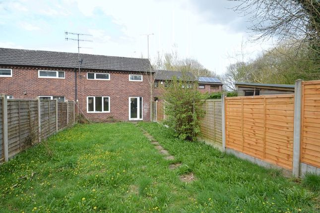 Thumbnail Terraced house for sale in Haseley Close, Matchborough East, Redditch