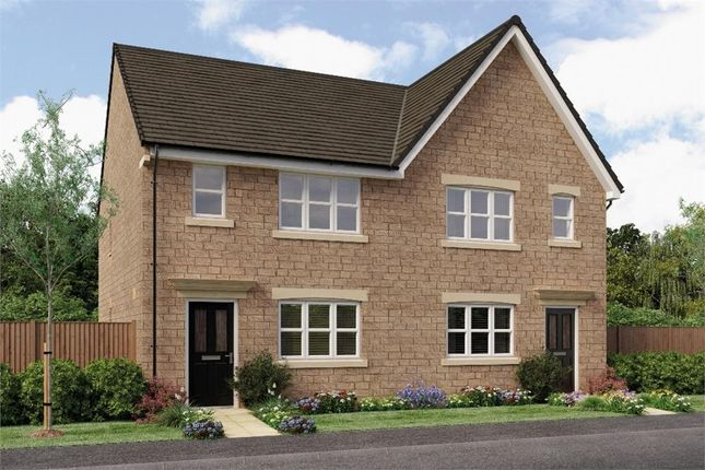 """Thumbnail Semi-detached house for sale in """"The Pushkin"""" at Main Road, Eastburn, Keighley"""