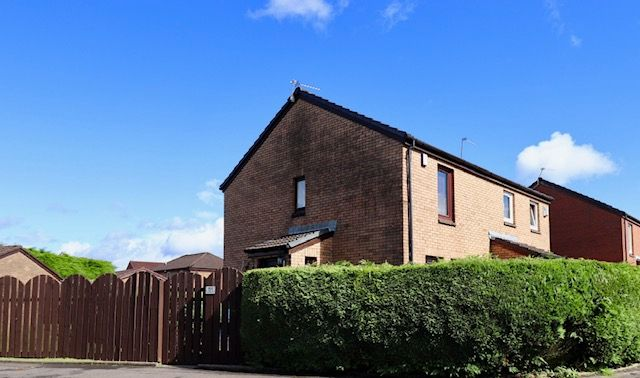 Thumbnail Semi-detached house for sale in Broughton Road, Summerston