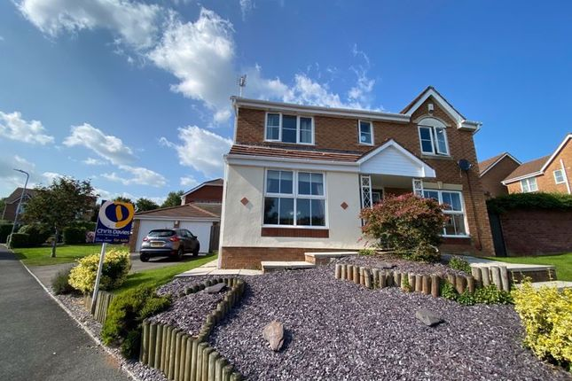 Thumbnail Detached house for sale in Coed Criafol, Barry