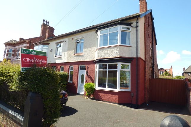 Thumbnail Semi-detached house for sale in Westbank Road, Tranmere, Birkenhead
