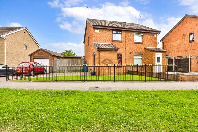 Thumbnail Semi-detached house for sale in Howdale Road, Hull