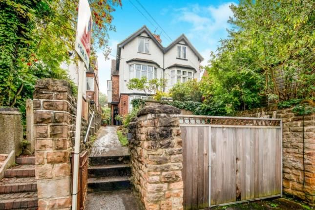 Thumbnail Semi-detached house for sale in Lucknow Avenue, Nottingham, Nottinghamshire