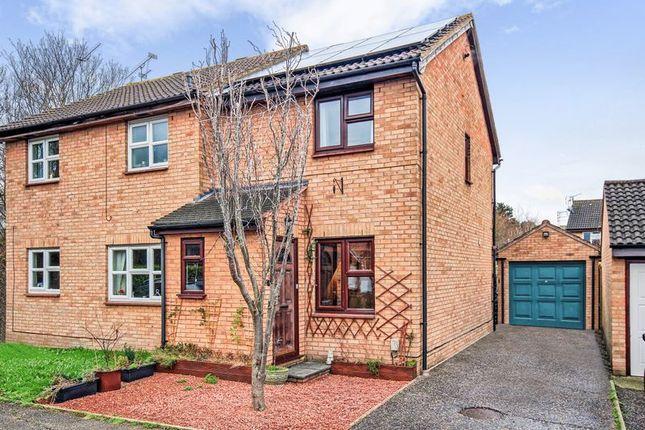 Thumbnail Semi-detached house for sale in Lovibond Place, Chelmer Village, Chelmsford