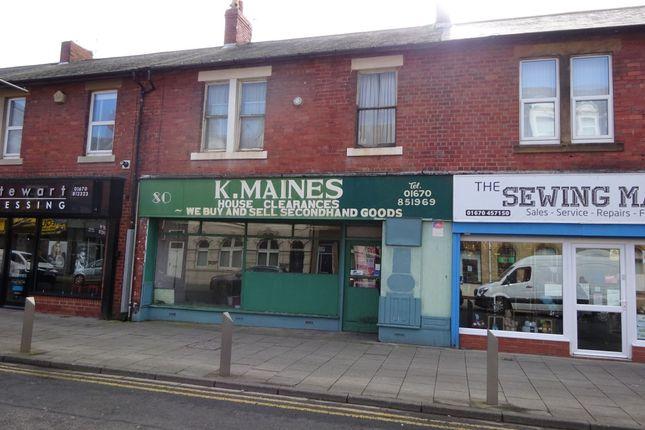 Thumbnail Retail premises for sale in Station Road, Ashington