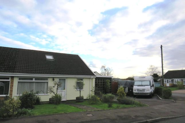 Thumbnail Semi-detached bungalow for sale in Wyebank Avenue, Tutshill, Chepstow
