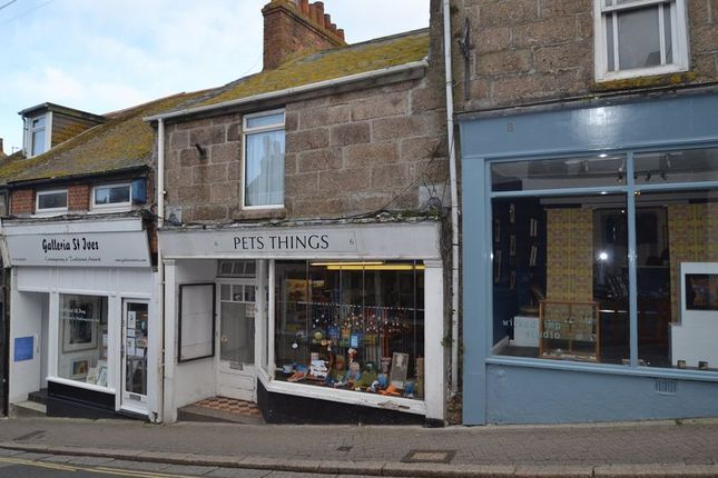 Thumbnail Flat for sale in Tregenna Hill, St. Ives
