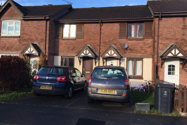 Thumbnail Terraced house to rent in Danestone Close, Swindon