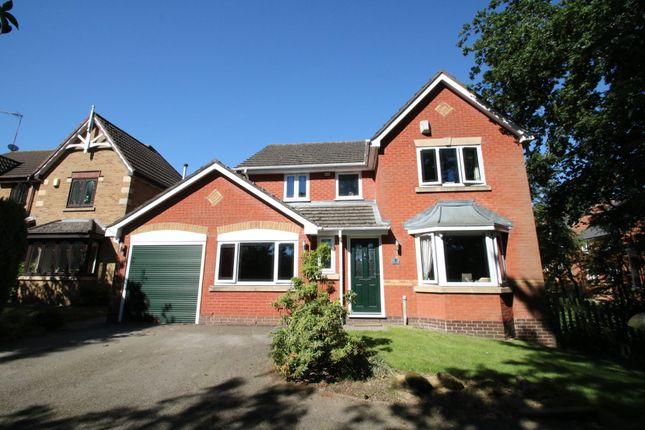 Thumbnail Detached house for sale in Hazel Close, Hartshill, Nuneaton