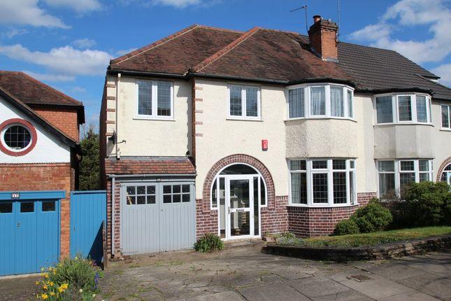 Thumbnail Semi-detached house for sale in Pereira Road, Harborne, Birmingham