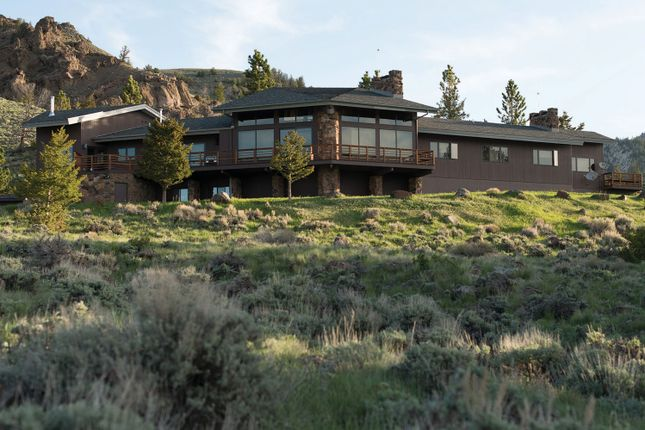 Ranch Home of Cody, Wyoming, Usa