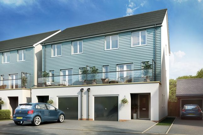 Thumbnail Town house for sale in Bessemer Drive, Newport