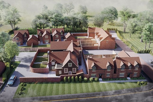 Thumbnail End terrace house for sale in High Street, Polesworth, Tamworth, Staffordshire