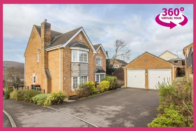 Thumbnail Detached house for sale in Great Oaks Park, Rogerstone, Newport