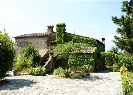 Thumbnail Detached house for sale in Podere Cafaggio Opp., 53011 Castellina In Chianti, Province Of Siena, Italy