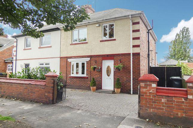 Thumbnail Semi-detached house for sale in York Avenue, Jarrow