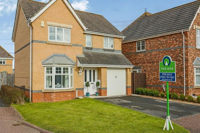 Thumbnail Detached house for sale in Middleton Close, Eaglescliffe, Stockton-On-Tees