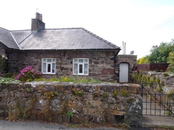 Thumbnail End terrace house for sale in School Cottages, Llandwrog, Caernarfon