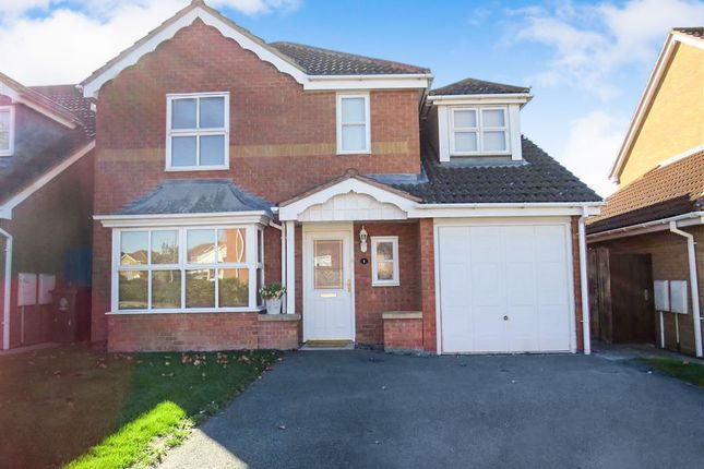 Thumbnail Detached house for sale in Cheltenham Close, Rushden