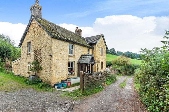 Thumbnail Detached house for sale in Crickadarn, Builth Wells