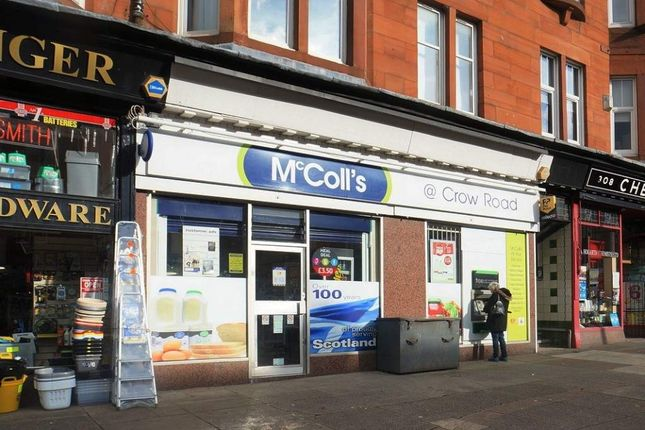Thumbnail Retail premises to let in Crow Road, Glasgow