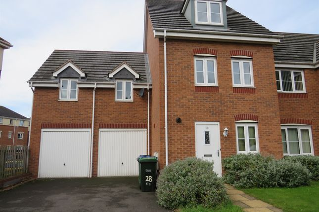 Thumbnail Semi-detached house for sale in King Street, Darlaston, Wednesbury
