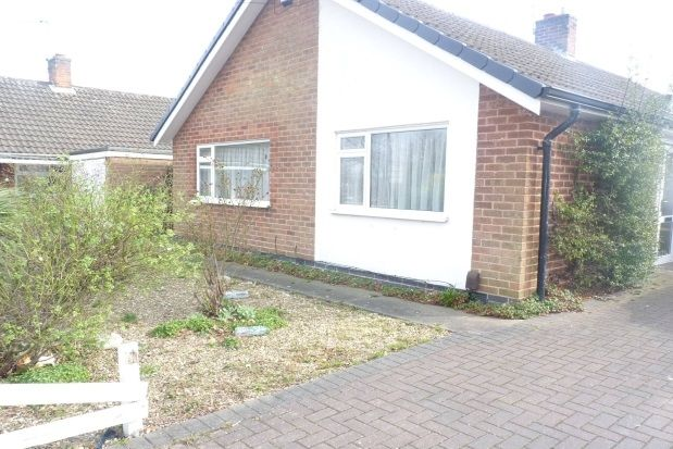 Thumbnail Bungalow to rent in Downing Drive, Evington
